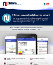 Nosis | Newsletters, Informes comerciales